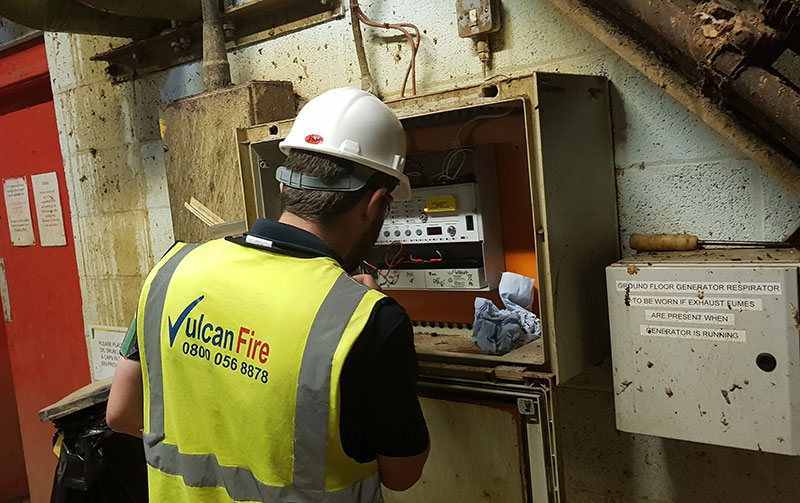 Fire Alarm Installation, Maintenance and Testing. Vulcan Fire