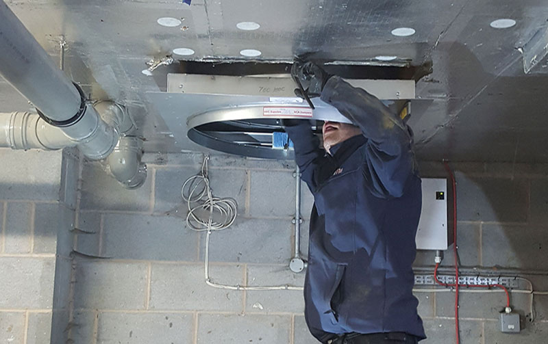 Fire Dampers Installation, Inspection